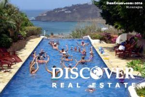 San Juan del Sur water aerobics