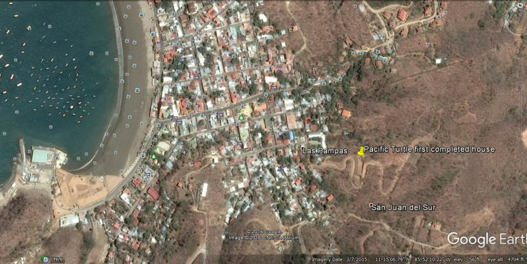 Google Earth map up close