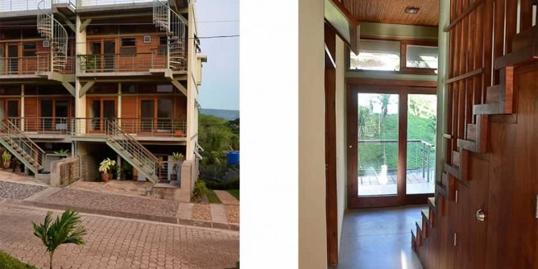 talanguera_townhomes_entry_facade_and_hall_stair