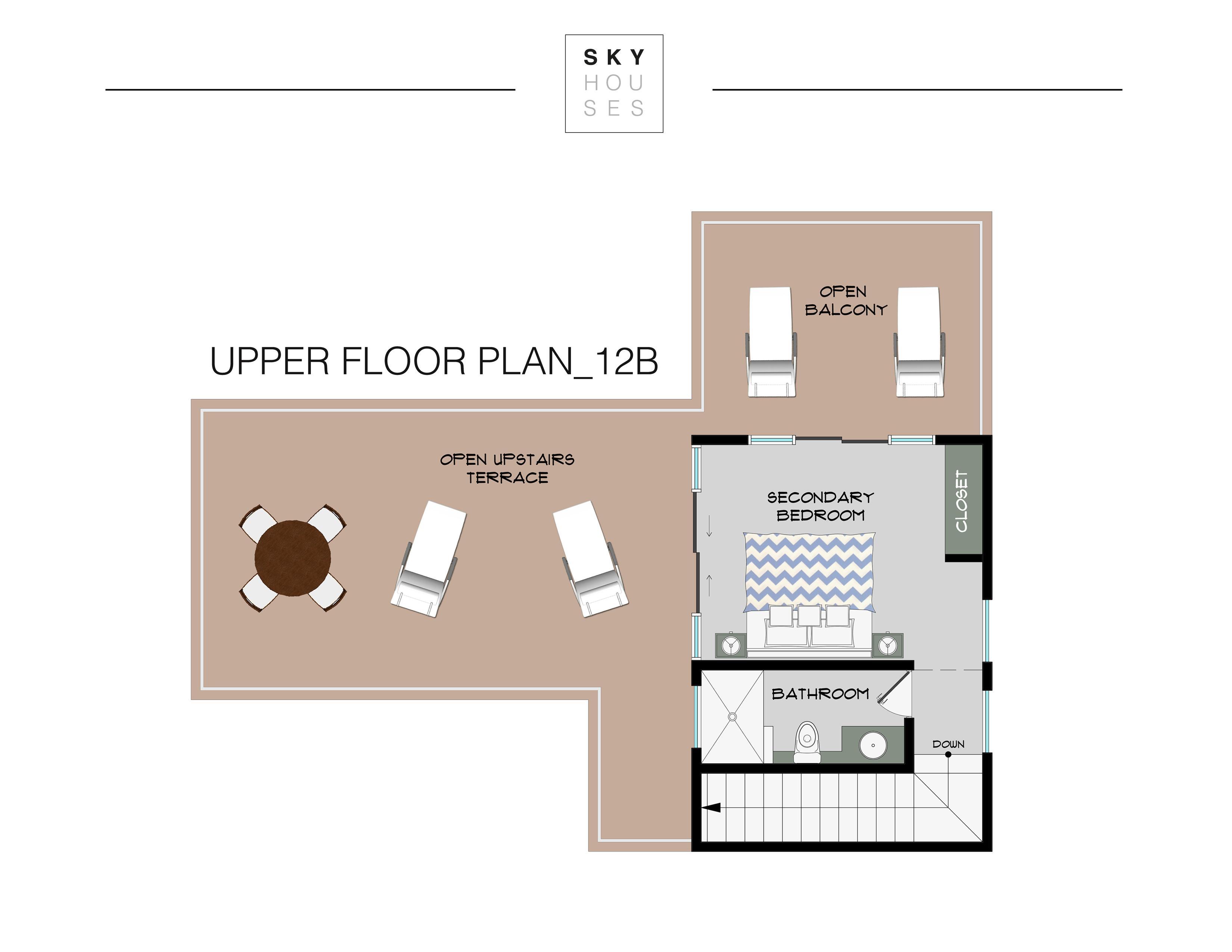 Upper Floor Plan 12b