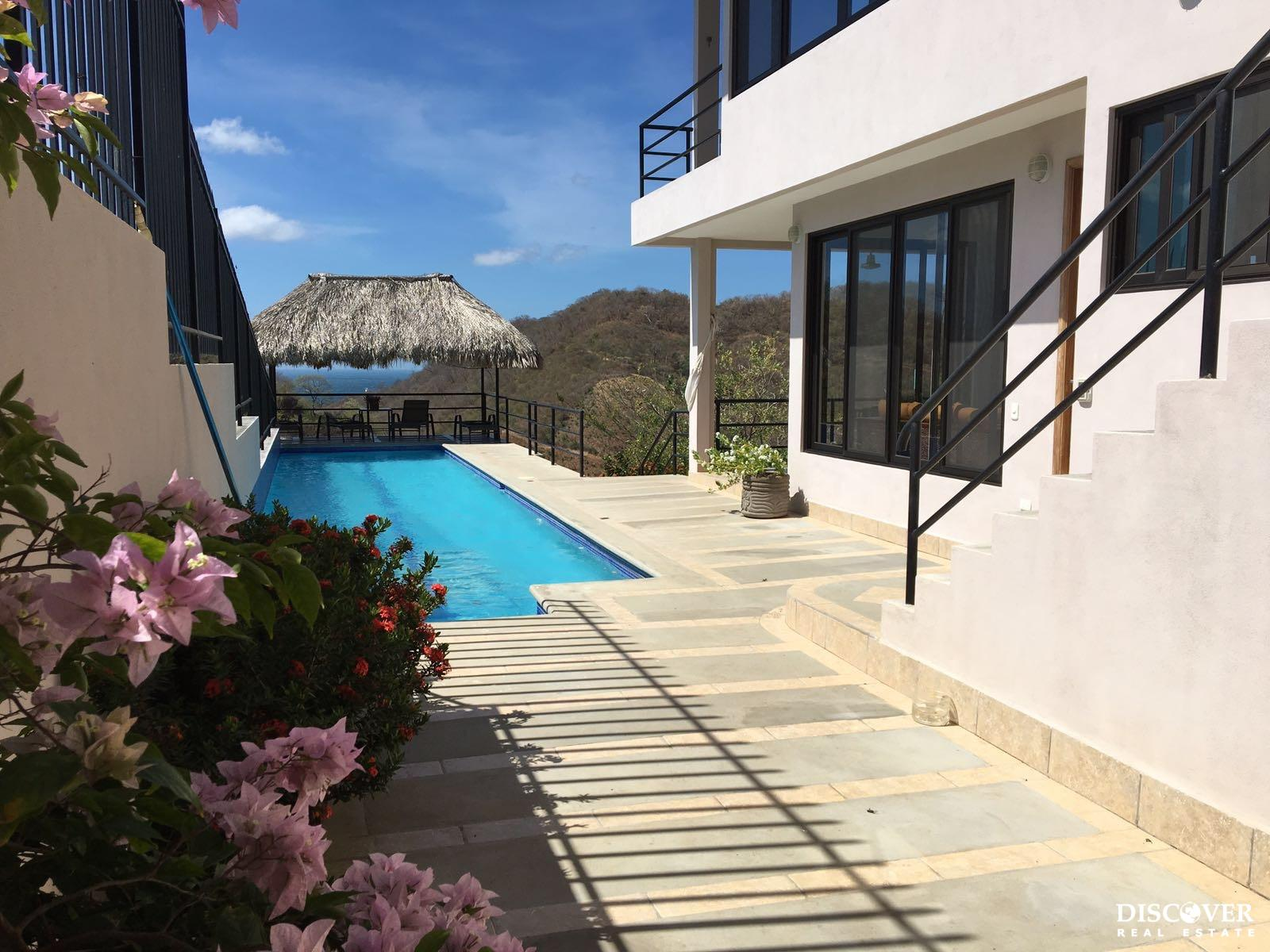Spectacular Hilltop House with Panoramic View in San Juan del Sur