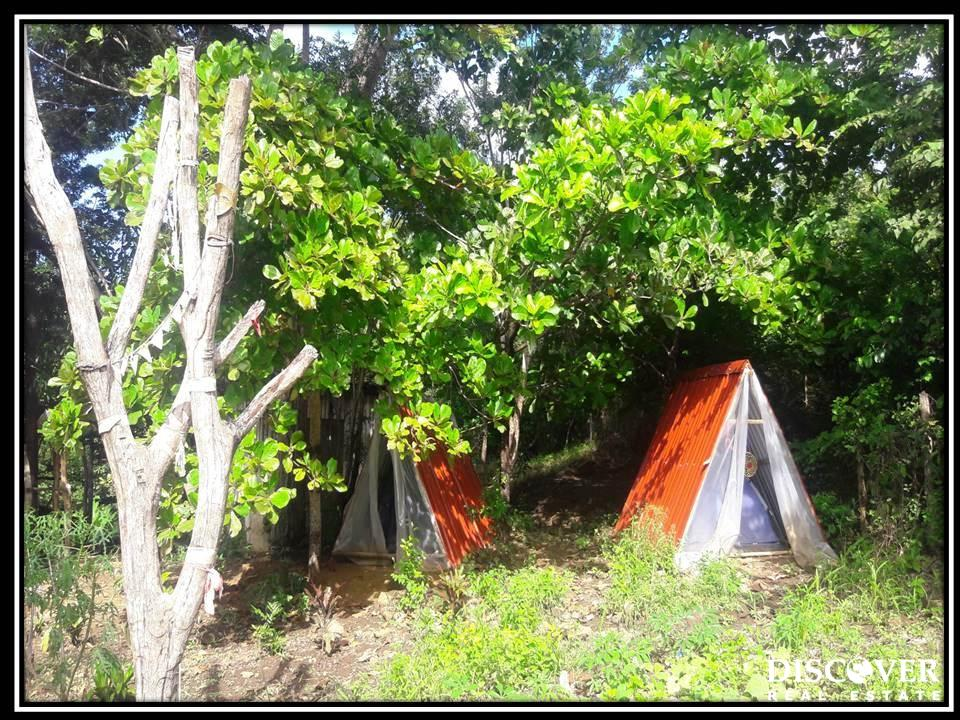 Amazing business opportunity to either use an established yoga retreat center or turn it into an Airbnb Jungle Campground!